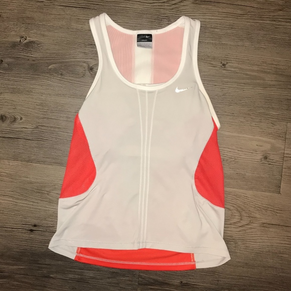 Nike Dri-Fit Running/Athletic Tank Top w/ Mesh
